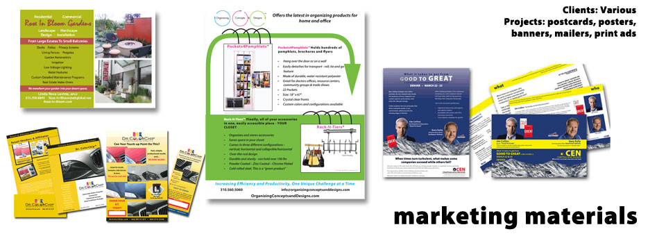 collateral marketing materials