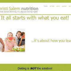 Christi Salem Nutrition