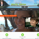 Golin Digital Media website